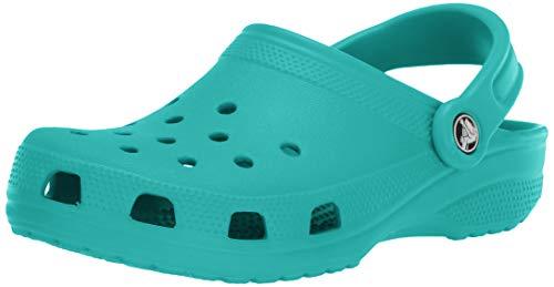 Crocs Unisex-Erwachsene Classic Clogs, Blau (Tropical Teal), 41/42 EU