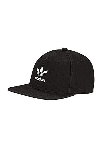 7c05d993eab7a6 adidas Originals Snapback AC Cap TRE Flat DV0236 Schwarz, Size:ONE Size