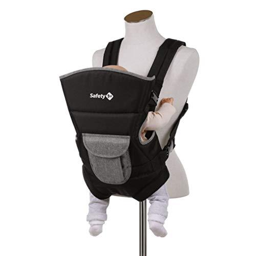 Safety 1st Porte Bébé Ventral Youmi, Naissance à 9 mois (9 kg), Black Chic