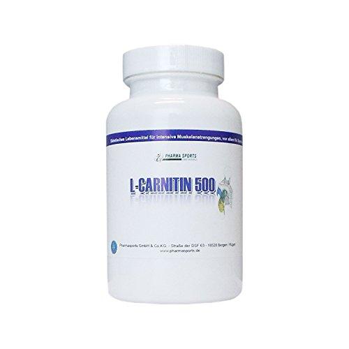 -Carnitin 1000 mg (TD) hochdosiert für Diät.- & Definitionsphase ( 4 Kapseln = 3000mg L-Carnitin-Tartrat entspricht 2000mg L-Carnitine 100 Kapseln