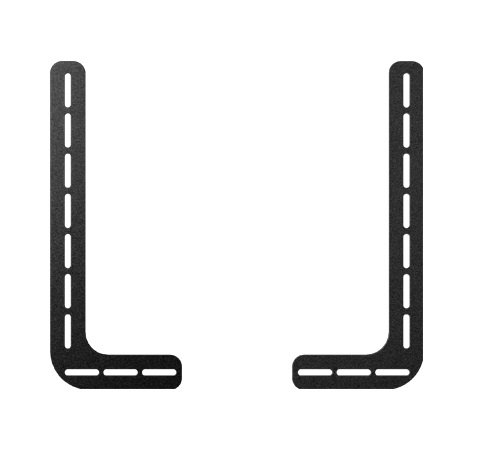 TV Sound bar Bracket Soundbar Mount, Universal Fit - Position Above or Below TV With or Without TV Wall Mount by Sonorous
