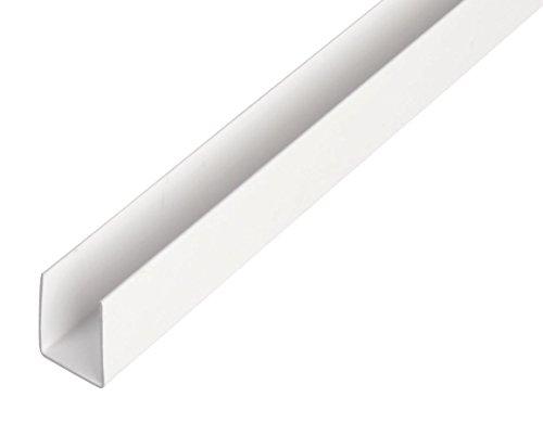Bordwandprofil Einfassprofil Rohstahl unbehandelt 0//-3 mm S235 1.0038 ST37 B/&T Metall Stahl U-Profil 30 x30 x 1,5 mm gleichschenklig in L/ängen /à 1500 mm