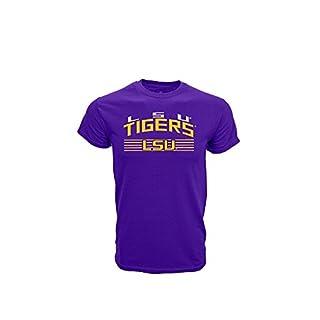Levelwear NCAA LSU TIGERS Garrison T-Shirt, Größe:L
