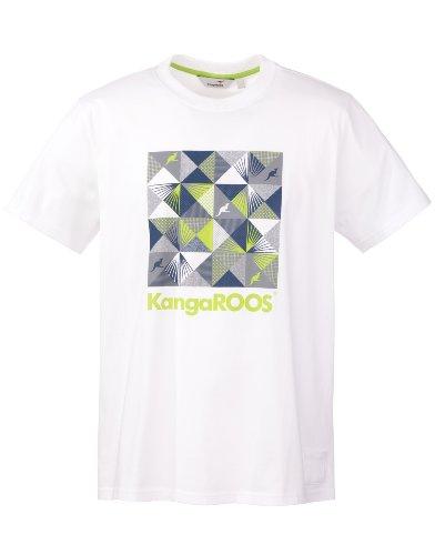 KangaROOS Herren T-Shirt Bizz White