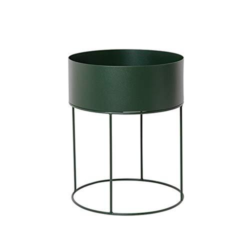 KJZ Support de stockage de support de fleur en métal - Multifonction 60 * 40 Cm Étagère de pot de fleur (Couleur : Green, taille : 60 * 40cm)
