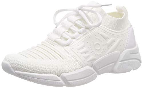 Bugatti Damen 431668606969 Slip On Sneaker Weiß (White 2020), 38 EU