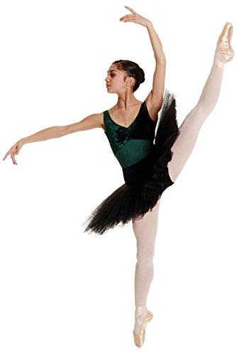 DANCEWEAR WORLD DIRECT Rumpf Ballettschuh Spitzenschuh Cabrio Fuß Ballett Strumpfhose-Erwachsene & Kinder Größen, Damen Kinder, rose -