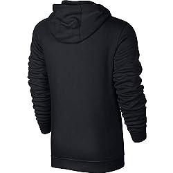 Nike 804389 Sweat à capuche Homme - Noir (Black/White 010) - M