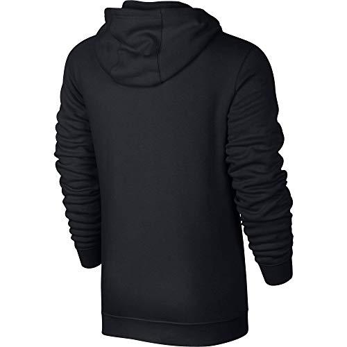 Nike Herren M Nsw Club Hoodie Fz Bb, Schwarz (Schwarz/Weiß), 2XL