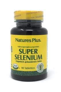 Selen Plus Vitamine (Nature's Plus Super Selenium [200mcg Selen + Vitamin E] 90 Tabletten (68g))