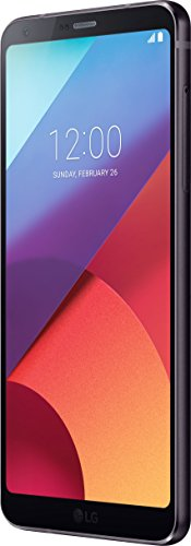 LG Mobile G6 Smartphone (14,5 cm (5,7 Zoll) QHD Plus Full Vision Display, 32GB Speicher, Android 7.0 Nougat) schwarz