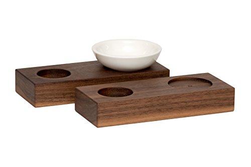 Set portauova con base in legno preisvergleich