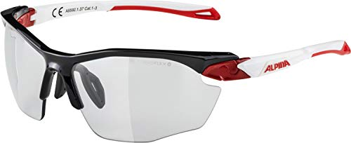 ALPINA Erwachsene Twist Five HR VL+ Sportbrille Black-red-White One Size