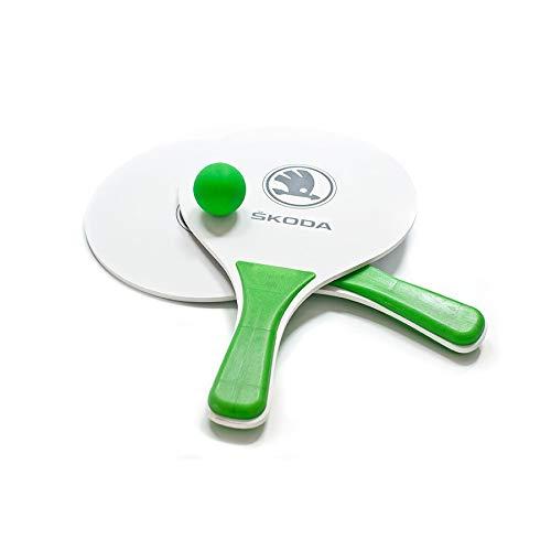 Skoda MVF17-406 Beachball Strandspiel Tennis Tischtennis Schläger