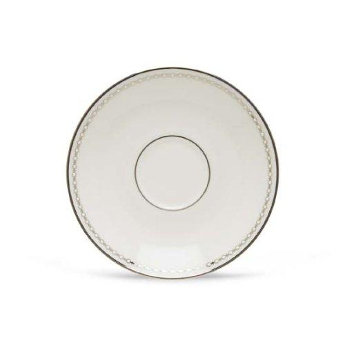 (Lenox Pearl Platinum Fine Dinnerware, Formal, Saucer, White) - Lenox Pearl Platinum Saucer Lenox Pearl