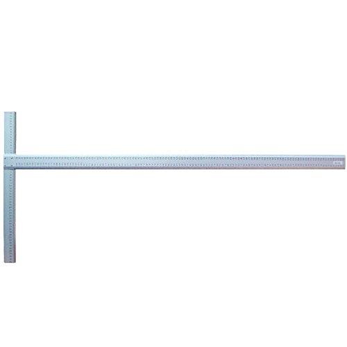 Stanley Profi-Rei/ßschiene mit klappbaren Armen T-Form, Aluminium, 71 cm L/änge, 52 cm Breite, mit mm-Skala STHT1-05933