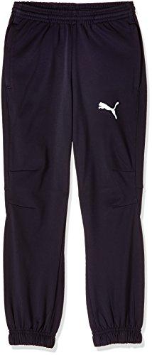 Puma Sweatpants Jungen, Jungs, Trikot, blau - New Navy / Weiß, 176, 653974 06 (Fußball Puma Trikots)