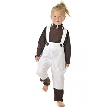 (Chocolate Factory Worker Kinder Kostüm)