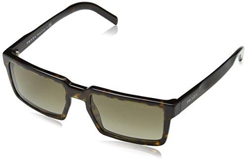 Prada Herren PR03SS Sonnenbrille, Braun (Havana 2AU1X1), One size (Herstellergröße: 54)