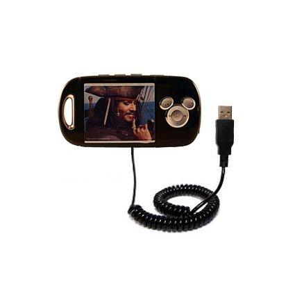 USB-Lade- und Datenkabel für Disney Pirates of the Caribbean Mix Stick MP3 Player DS17033 mit TipExchange Technologie