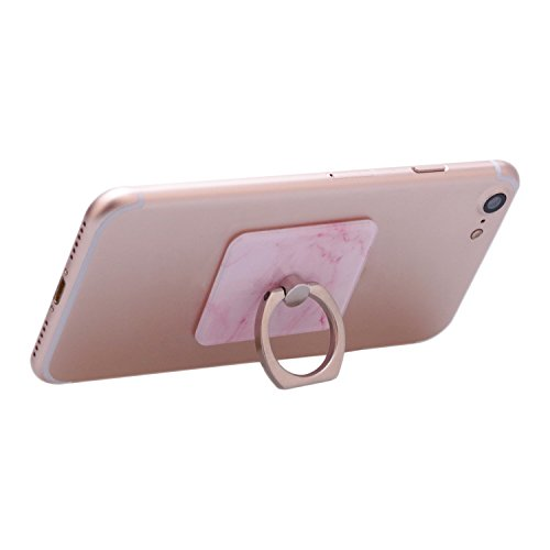 Asnlove Ring Holder Supporto, Asnlove Elegante Brillante Anello in Metal Ring Grip con 360 Rotazione di 360 Gradi Proteccion Case Cover per Smartphone Cellulari iPhone 5/6/6 plus,Samsung Galaxy S4/S5/ color-7