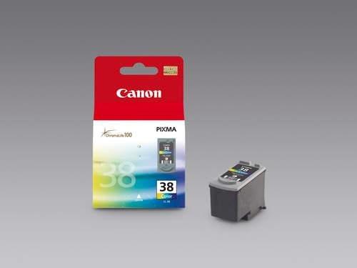 1 Original color Druckerpatronen für Canon Pixma MX 300, MX 310, IP 1800, IP 1900, IP 2500, IP2580, IP 2600, MP 140, MP 190, MP 210, MP 220, MP 470 (Pixma Canon 210)