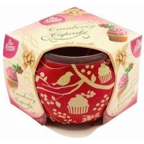 Candela profumata Mirtillo Cupcake