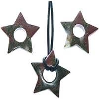 Unakit 1 Kleiner Stern mit Runden Bohrung 0.8 cm Größe ca. 2.5 cm Sein Gewicht 2 g. preisvergleich bei billige-tabletten.eu