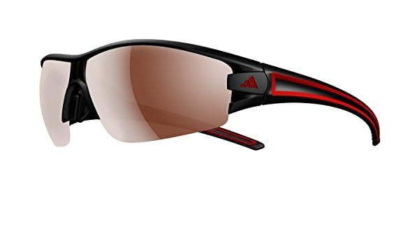 adidas Eyewear Evil Eye Halfrim L Polarized, Farbe Black/Red