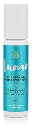 Brightening Under Eye Serum von Lunar Glow. Erfrischendes Augenserum für den unteren Augenbereich und Kontur 10ml