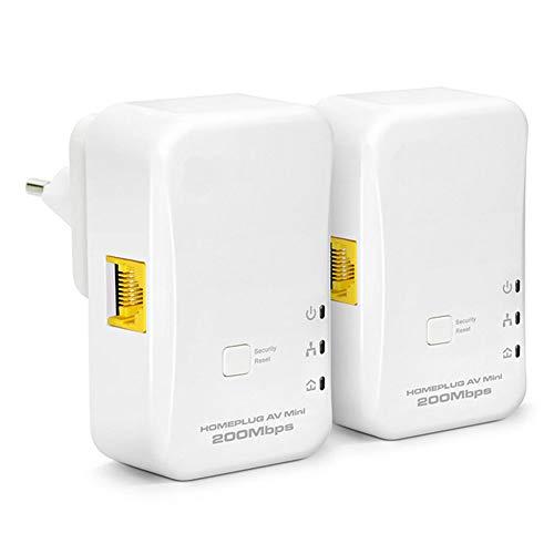 CAPTIANKN 200Mbps Wireless Signal Booster Ethernet Adapter, 360 Grad Full Coverage Wi-Fi Range Extender, 300 Meter Übertragungsdistanz,UKPlug