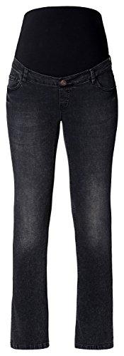 ESPRIT Maternity Damen Umstands Jeans Pants Denim Bootcut-Umstandsjeans mit dunkler Waschung // schwarz Gr. 40 (Bootcut-kleid)