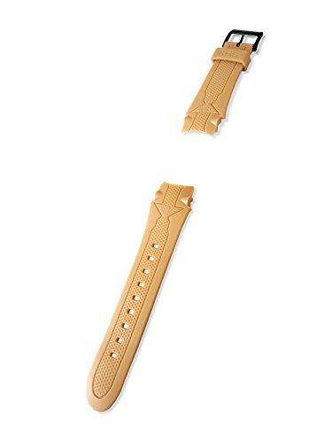 KHS Kunststoffband | Sentinel Beige, Ersatzarmband, KHS.EBSET.24, Uhrenarmband