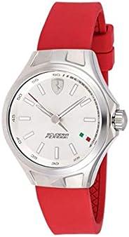 Ferrari Women's Silver Dial Rubber Band Watch - 82