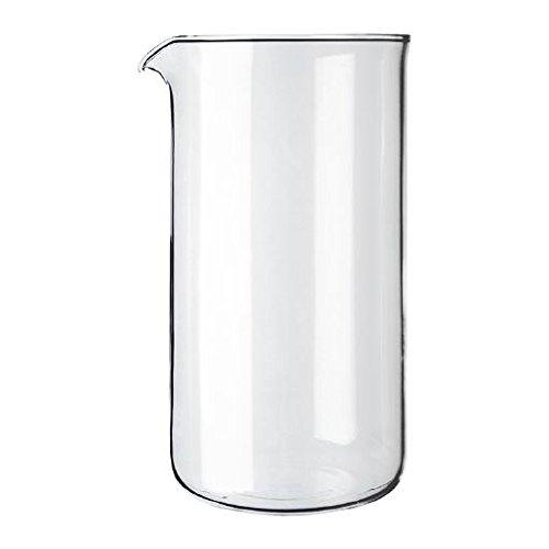 Kaffeemaschine Ersatz Becher Glas (Bodum transparent Glas Ersatz Kaffeemaschine Becher 3Tasse 0.35L (12oz) (4Stück))