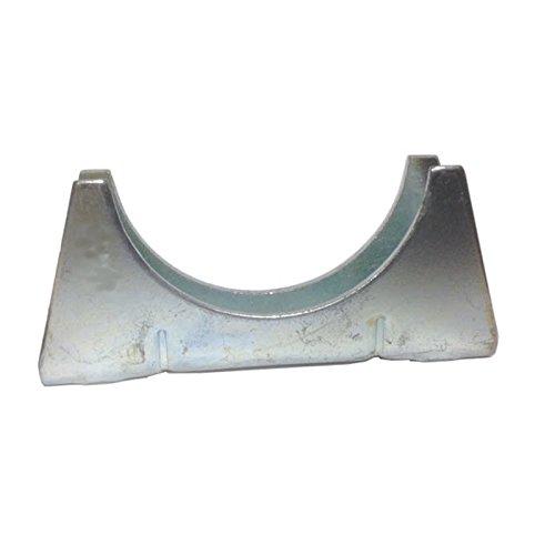 Tuyau de 51 mm 'chappement universelle cradle - Zinc plaqu' doux acier Pack Tailleÿ: 2
