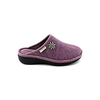 Grunland ALDE CI0938 Purple Heather Slippers Womens Slippers Cloth 36
