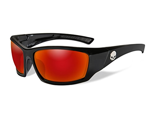 Harley-Davidson Wiley X TAT Red Mirror Motorrad Brille