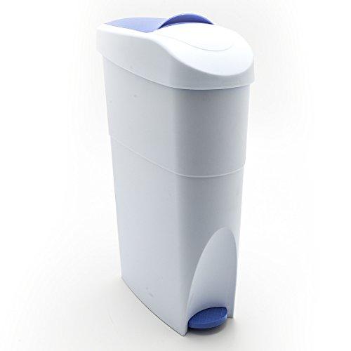 Abfalleimer schmal für Bad Küche Treteimer Mülleimer Abfallbehälter