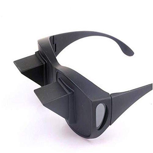 20ed49b1f3 ZhangHongJ,HD Bed Prism Spectacles Horizontal Pigro Periscopio Visualizza  Occhiali da lettura Guarda TV(