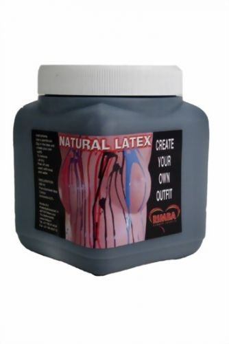 Body Paint Equipment - Liquid Latex Black 450 (Body Kostüme Paint Latex)
