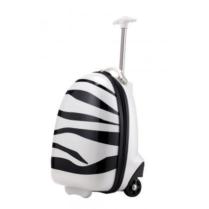 Capitale Valise – For Kids – Enfants bagages, Valise pour enfant, coffret (Abeille d'Animaux, Zebra, coccinelle) 24 L Blanc, blanc (Blanc) - 123207047
