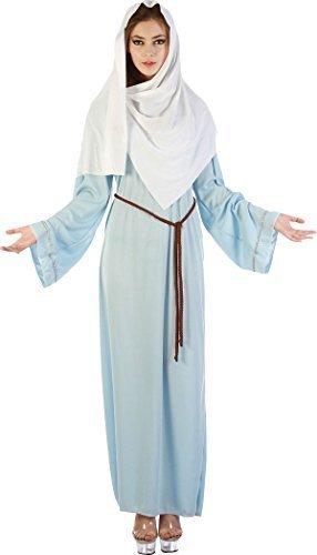 Krippenspiel Weihnachten Damen Religiös Top Verkleidung Kostümparty Jungfrau Maria Kostüm (Religiöse Weihnachten Kostüme)
