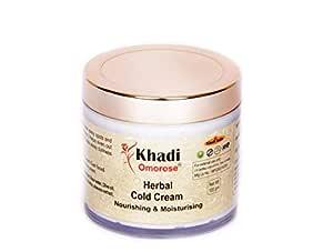 KHADI Omorose Herbal Cold Cream with Shea Butter, Aloe Vera Extract (100 g)