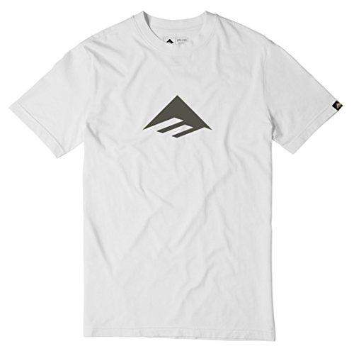 Emerica Erwachsene T-Shirt Triangle 7.1 Weiß