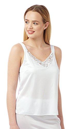 BHS Damen Unterhemd Weiß