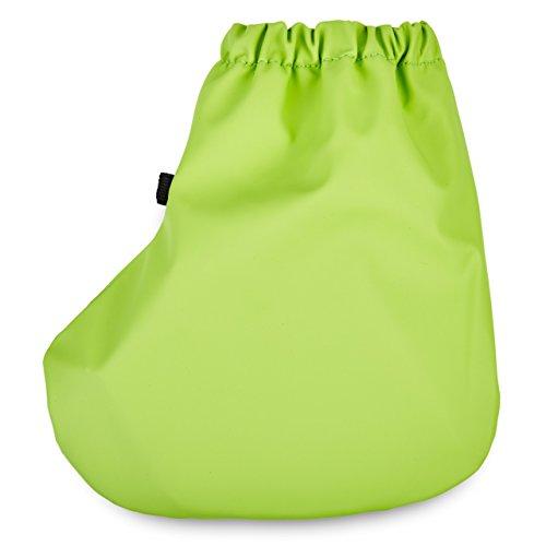 SmileBaby couvre-chaussures sur-chaussures couverture contre la pluie chaussons contre la pluie bleu marine taille M Vert