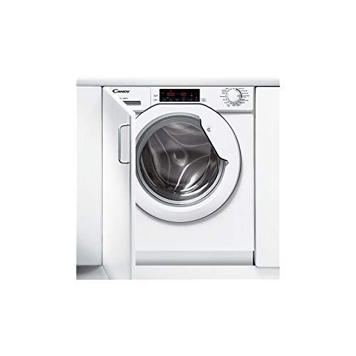 Candy 31800239 CBWMS 914TWH-S Einbauwaschmaschine, Steel, 61 liters, Weiß