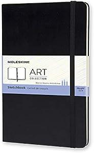 Moleskine Art Collection Schets-/Tekenboek Met Hardcover En Elastische Sluiting, Geschikt Voor Pennen, Potlode