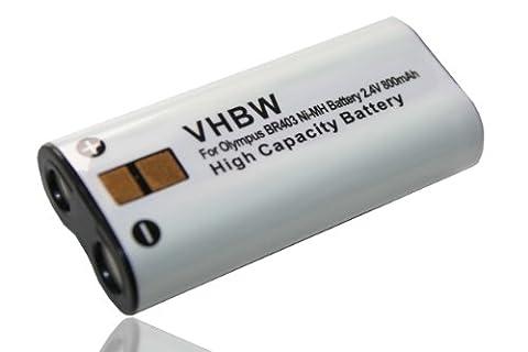 Batterie Ni-MH pour enregistreur vocal OLYMPUS, remplace les modèles BR402, BR403, BR-402, BR-403